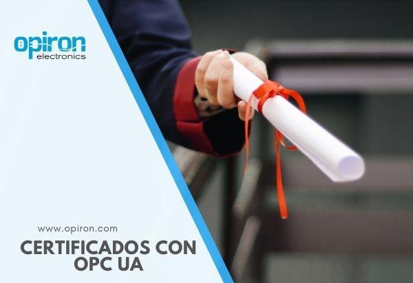 certificados con OPC UA
